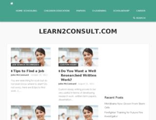 learn2consult.com screenshot