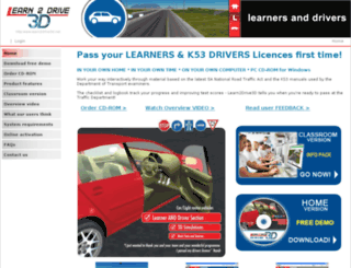 learn2drive3d.net screenshot