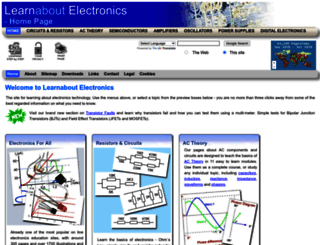 learnabout-electronics.org screenshot