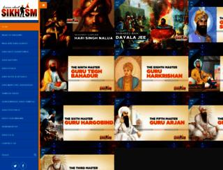 learnaboutsikhism.com screenshot