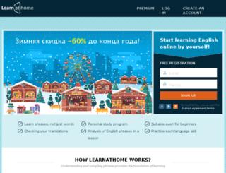 learnathome.myterranet.com screenshot