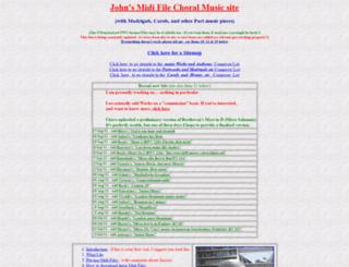 learnchoralmusic.co.uk screenshot