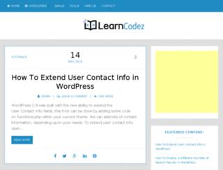 learncodez.com screenshot