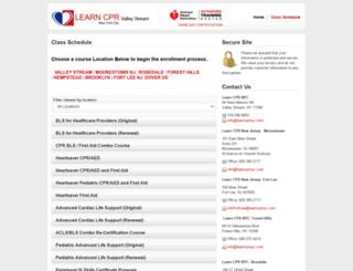 learncprnyc.enrollware.com screenshot
