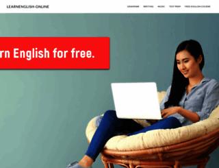learnenglish-online.com screenshot