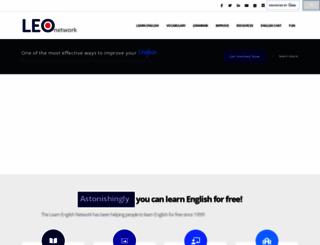 learnenglish.de screenshot