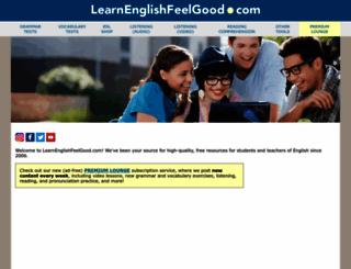 learnenglishfeelgood.com screenshot