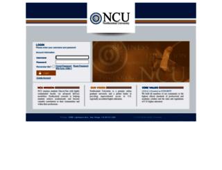 learners.ncu.edu screenshot