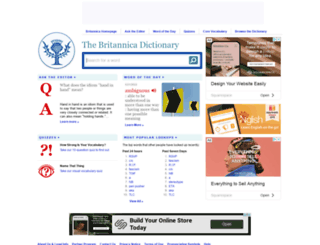 learnersdictionary.com screenshot