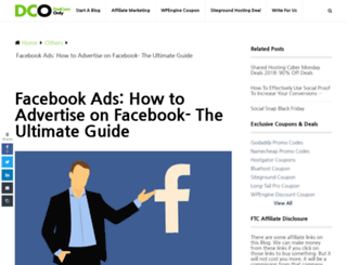 learnfacebookpages.com screenshot