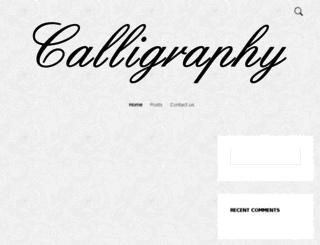 learnfreecalligraphyfonts.com screenshot
