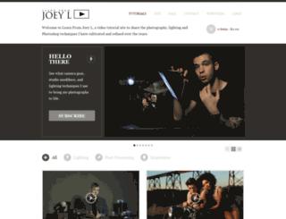 learnfromjoeyl.com screenshot