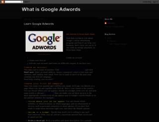 learngoogleadword.blogspot.com screenshot