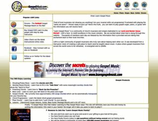 learngospelmusic.com screenshot