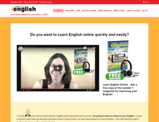 learnhotenglish.com screenshot