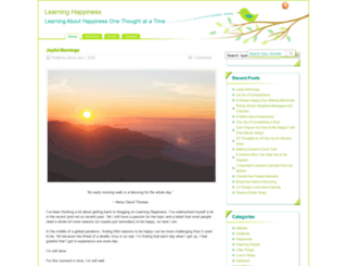 learning-happiness.com screenshot