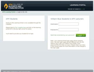 learning.apm.edu.au screenshot
