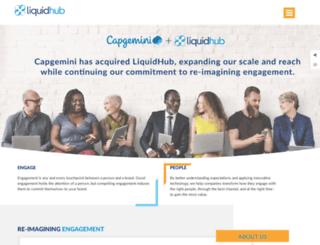 learning.liquidhub.com screenshot