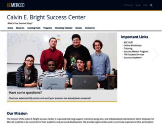 learning.ucmerced.edu screenshot