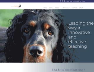 learningaboutdogs.com screenshot