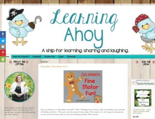 learningahoy.com screenshot