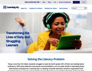 learningally.org screenshot