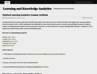 learninganalytics.net screenshot