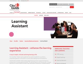 learningassistant.com screenshot