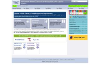 learningclip.co.uk screenshot