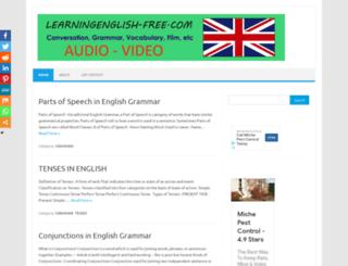 learningenglish-free.com screenshot
