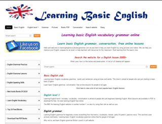 learningenglishvocabularygrammar.com screenshot