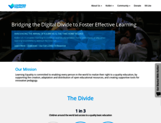 learningequality.org screenshot