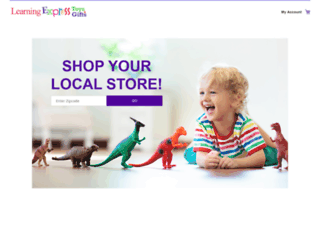 learningexpresstoys.com screenshot
