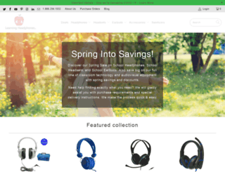 learningheadphones.com screenshot