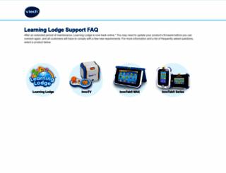 learninglodgesupport.com screenshot