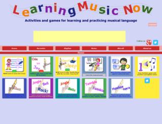 learningmusicnow.com screenshot