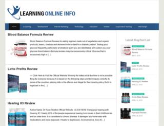 learningonlineinfo.org screenshot