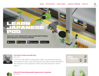 learnjapanesepod.com screenshot