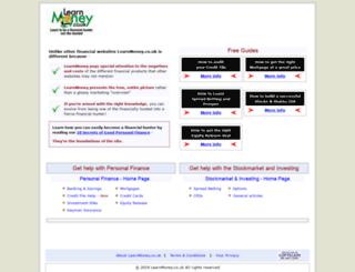 learnmoney.co.uk screenshot