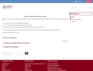 learnonline.gmit.ie screenshot