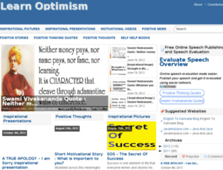 learnoptimism.com screenshot