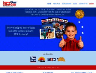 learnourhistory.com screenshot