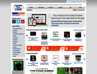 learnoutloud.com screenshot