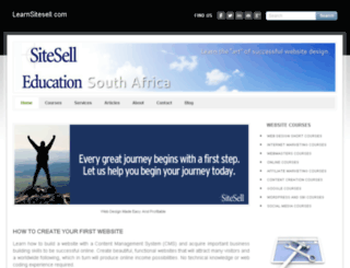 learnsitesell.com screenshot