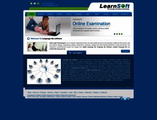 learnsoft.in screenshot
