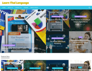 learnthailanguage.org screenshot