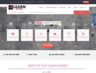 learnthenew.com screenshot