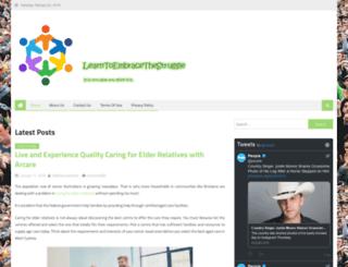learntoembracethestruggle.com screenshot
