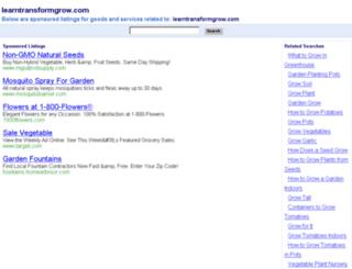 learntransformgrow.com screenshot