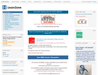 learnzone.henleycol.ac.uk screenshot